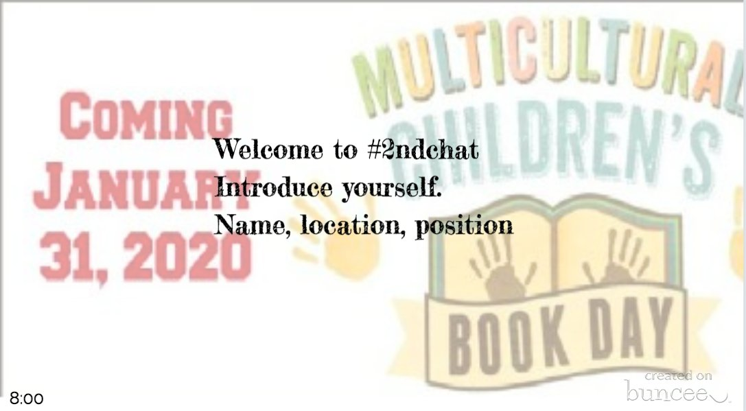 Welcome to #2ndchat we're glad you're here! Let's get to know one another.