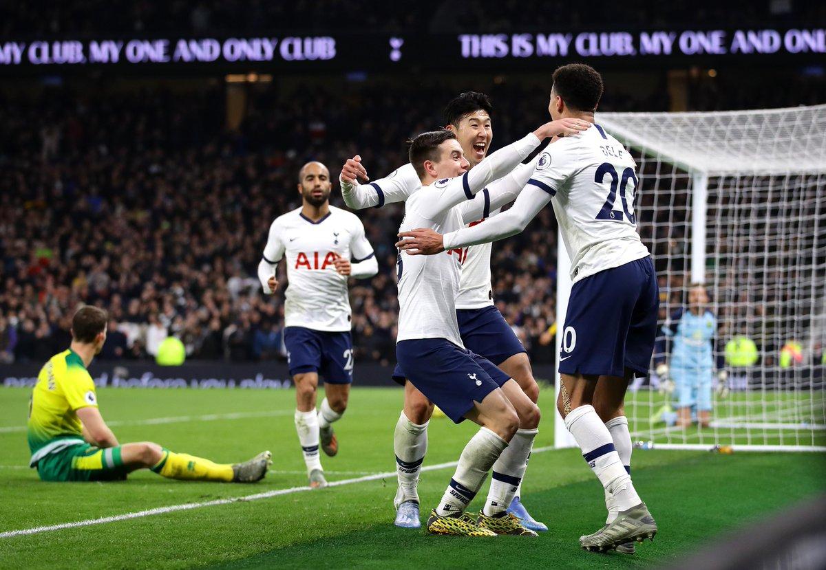 Xem lại Tottenham vs Norwich, Ngoại hạng Anh – 23/01/2020