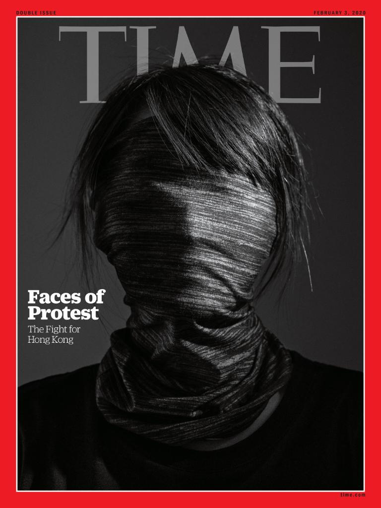 """TIME's new international cover: """"I absolutely will not back down."""" Meet the young people at the heart of Hong Kong's rebellion  https:// ti.me/2GhBy92    <br>http://pic.twitter.com/zdctBpWGd2"""