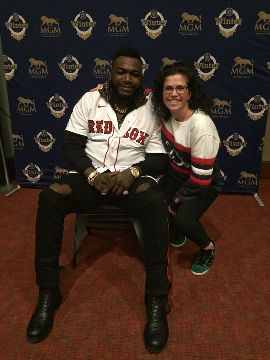 Seventeen years ago today, the Red Sox signed David Ortiz. Four days ago, I got to meet him. Thanks to Pedro for making it all possible #soxwinterweekend https://t.co/SUvZANgQrB https://t.co/dVc9b7fFME