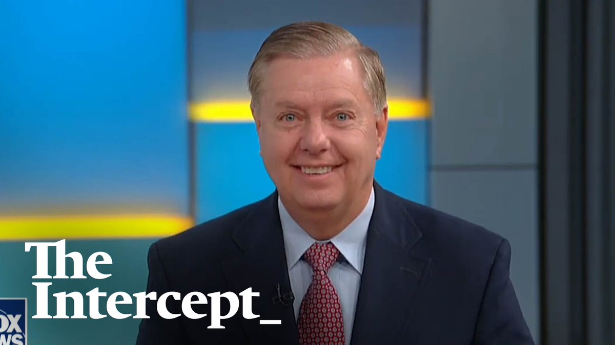 My new @theintercept video on the lies, U-turns, and hypocrisy of Lindsey Graham, the most shameless man in American politics. On everything from Trump's racism and mental fitness to impeachment trials! Watch some of these clips and your jaw will drop: