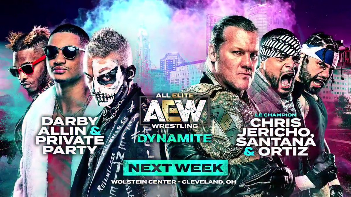 AEW Dynamite Cleveland: Matches, Segment Set For Next Week's Show