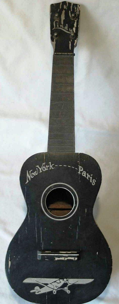 reed lindy commemorative 1927 lindbergh soprano ukulele