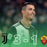 Image for the Tweet beginning: #Juventus qualified for the semi-finals