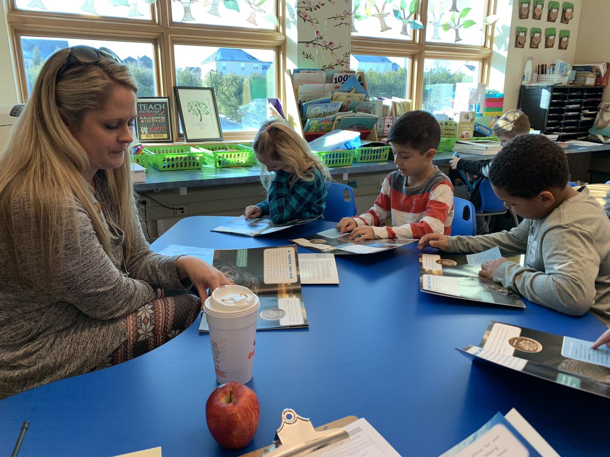 Observed some great F & P guided reading lessons this week! #readingrocks @EPSDWillowLane @trigutman @EastPennSD