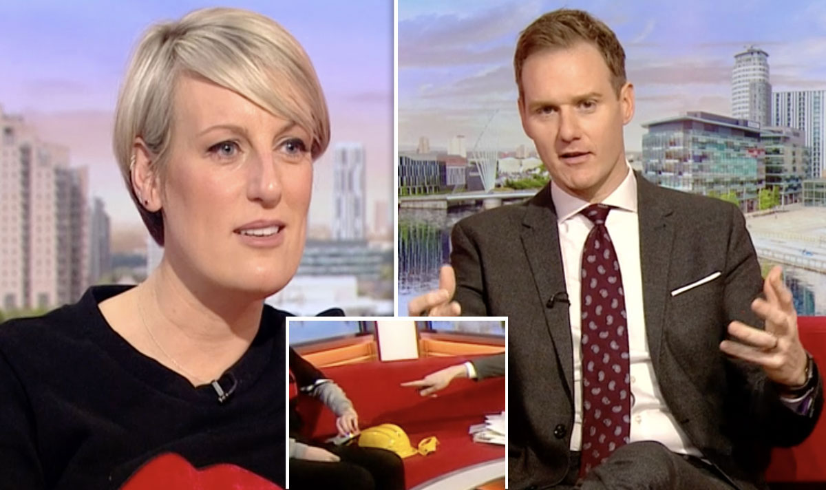 Dan Walker leaves Steph McGovern red-faced as he spots minor stain on her jumper https://t.co/HyjZrA112S https://t.co/nWSXjt17Yw