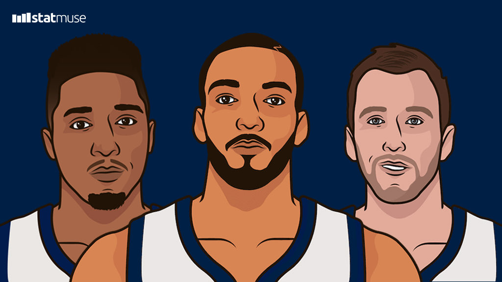 Utah Jazz since Christmas:  1st in offense 1st in point differential 1st in win % 1st in FG% 1st in 3P% 1st in TS%