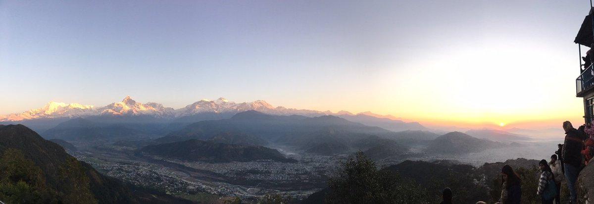 On my 10th trip to #Pokhara still in awe of these views!
