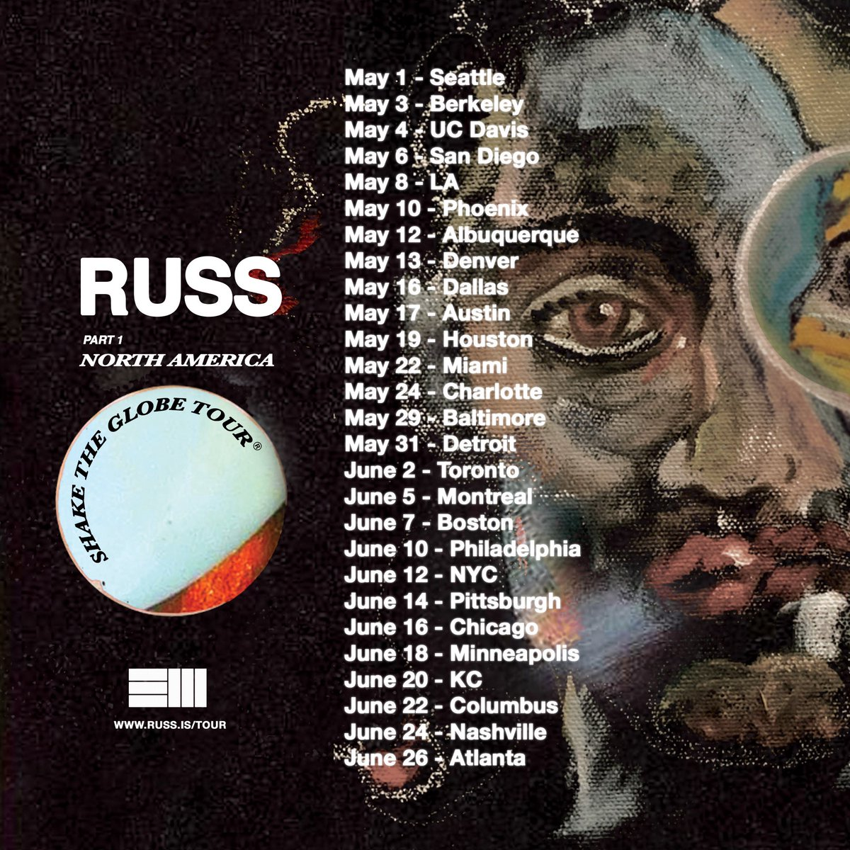 Summer tour gonna be so crazy. I'm performing old songs, new songs..everything  Every US show ticket comes with the album too  <br>http://pic.twitter.com/O1gQDiE8qG