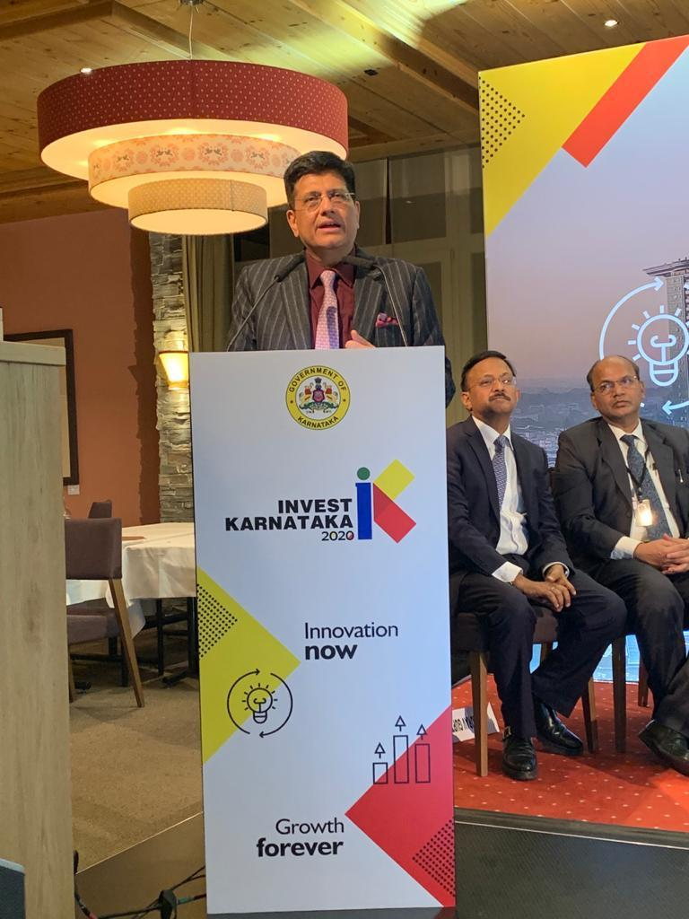 During the session 'Curtain Raiser to Karnataka Global Investor Summit 2020' spoke about the intellectual & innovation capacity of Karnataka  One of the fastest growing states in the country, Karnataka provides a conducive environment for innovation across various sectors #wef20<br>http://pic.twitter.com/dFzkPf7GZV