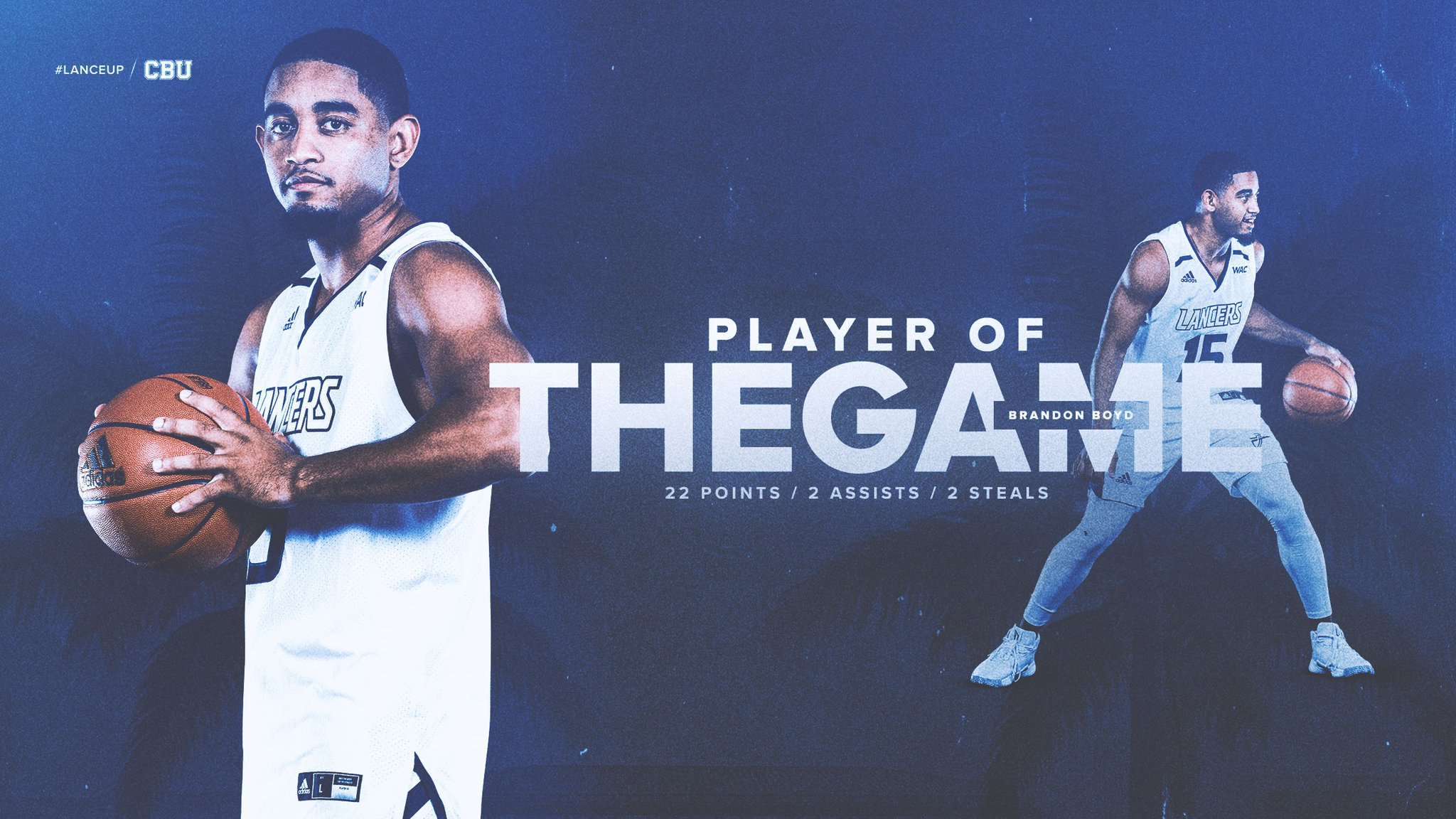 Happy Birthday to tonight\s Player of the Game, Brandon Boyd! |