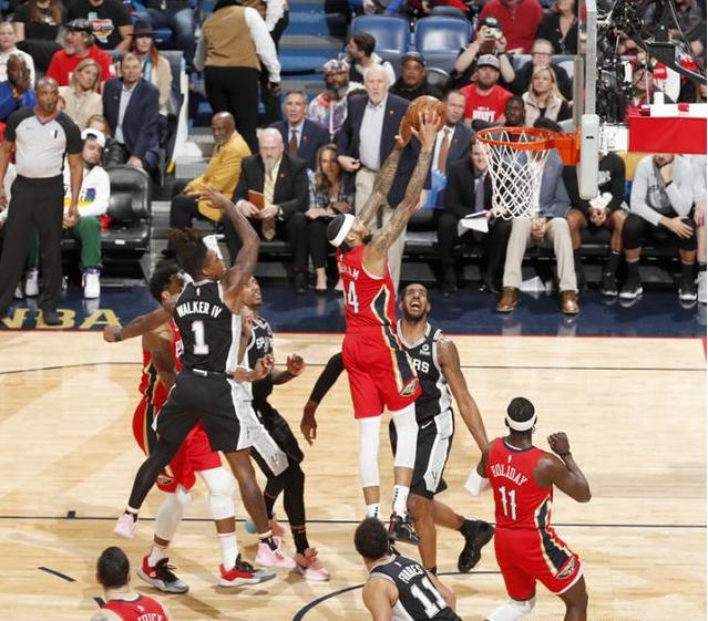 馬刺險些被逆轉,Zion末節連砍17分,Ingram成鐵匠,波波維奇做錯了一件事!-黑特籃球-NBA新聞影音圖片分享社區