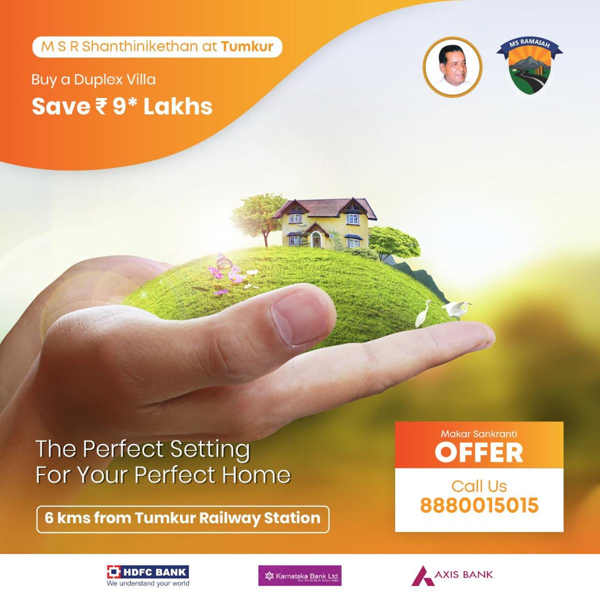 Spread across 40 acres, #MSR #Shanthinikethan offers you a wonderful home in a serene location where greenery triumphs urbanisation. Call us now and avail the exciting offer. #MSRDB #Tumkur #Home #Sankranti #MakarSankranti #MakarSankranti2020