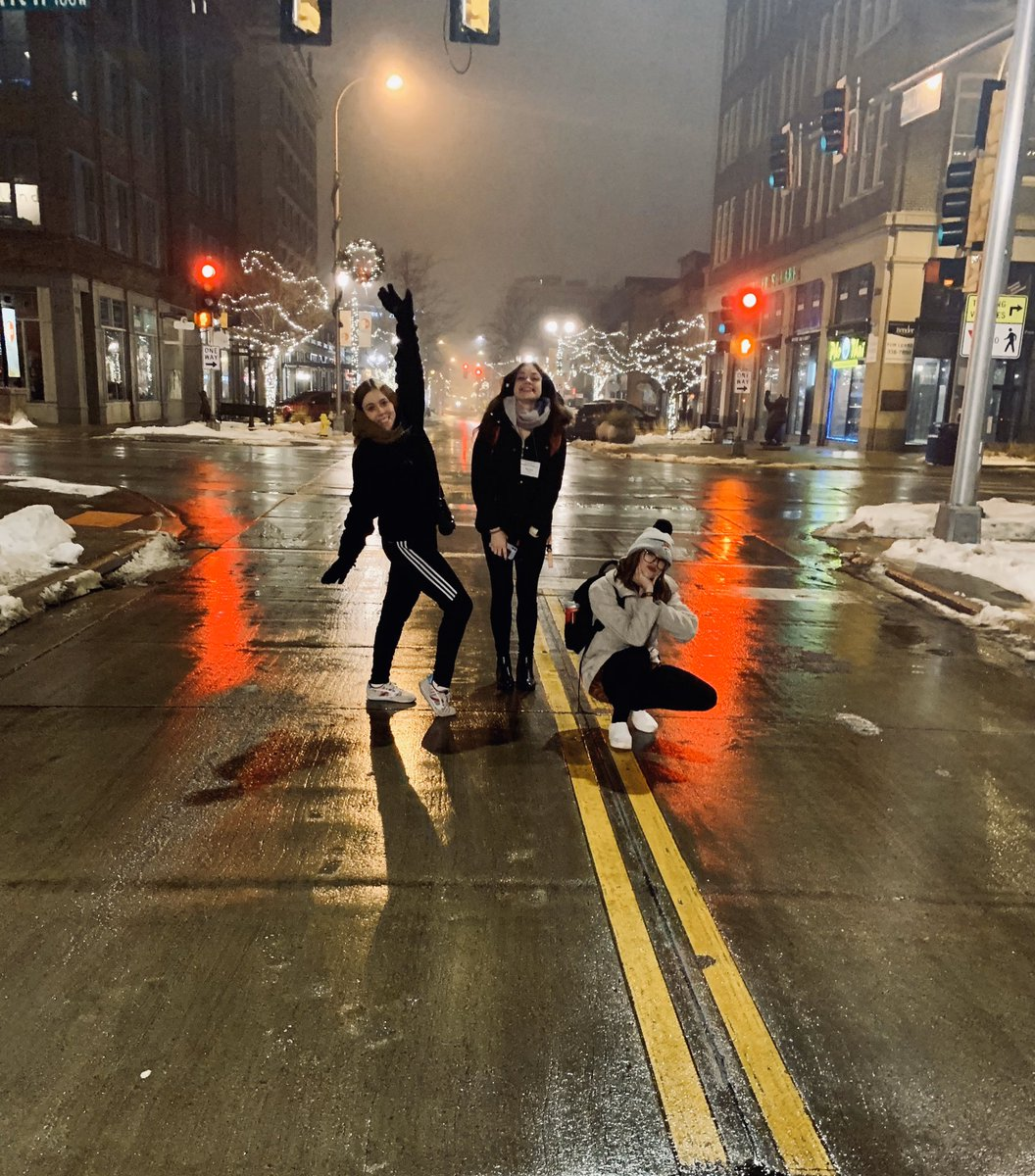 we really be out here in the middle of the street in Sioux Falls because there are NO RULES