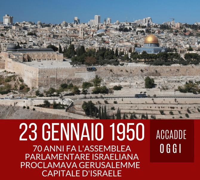 #Gerusalemme
