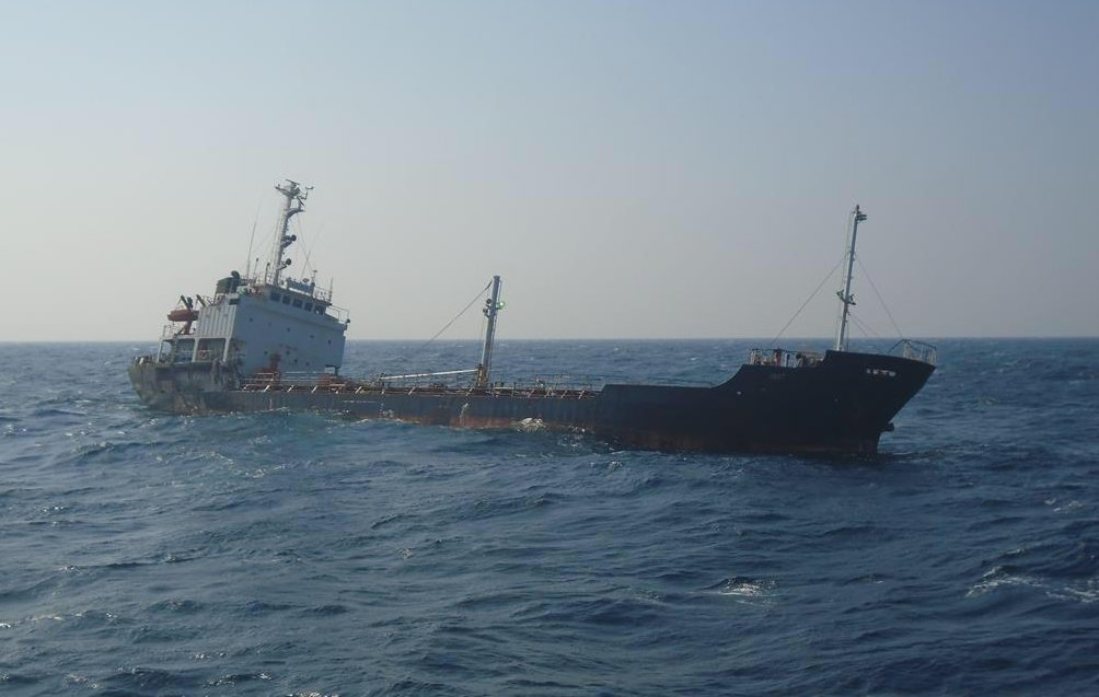 Coast Guard rescues 13 Indian crew from Gujarat bound ship