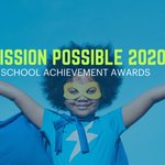 Image for the Tweet beginning: Our Mission Possible #school achievement