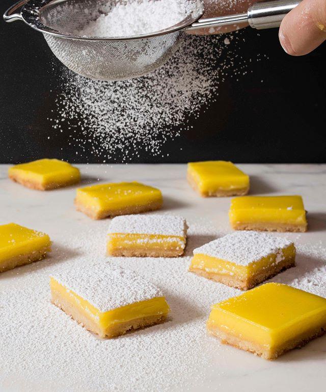 Beautiful lemon tarts! 🍋
