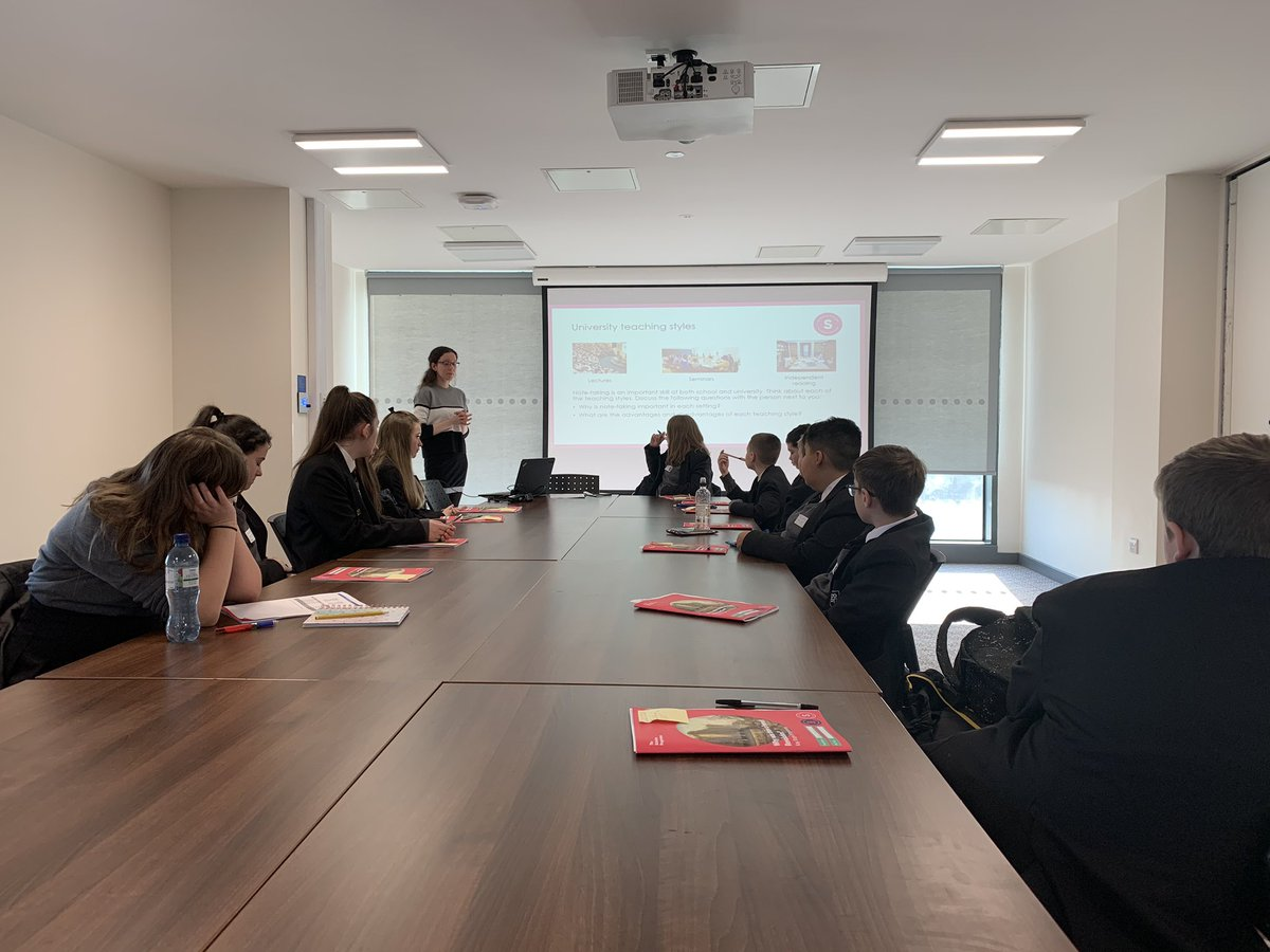 "test Twitter Media - Yr8 students at the Launch Day of their Scholars Programme through @BrilliantClub here at Sheffield Uni. During the campus tour I asked students if they could see themselves here in the future, all but one said yes, the other replied ""I'm going to Oxford, Miss!"" #aspirations https://t.co/BX7l9u6Gme"