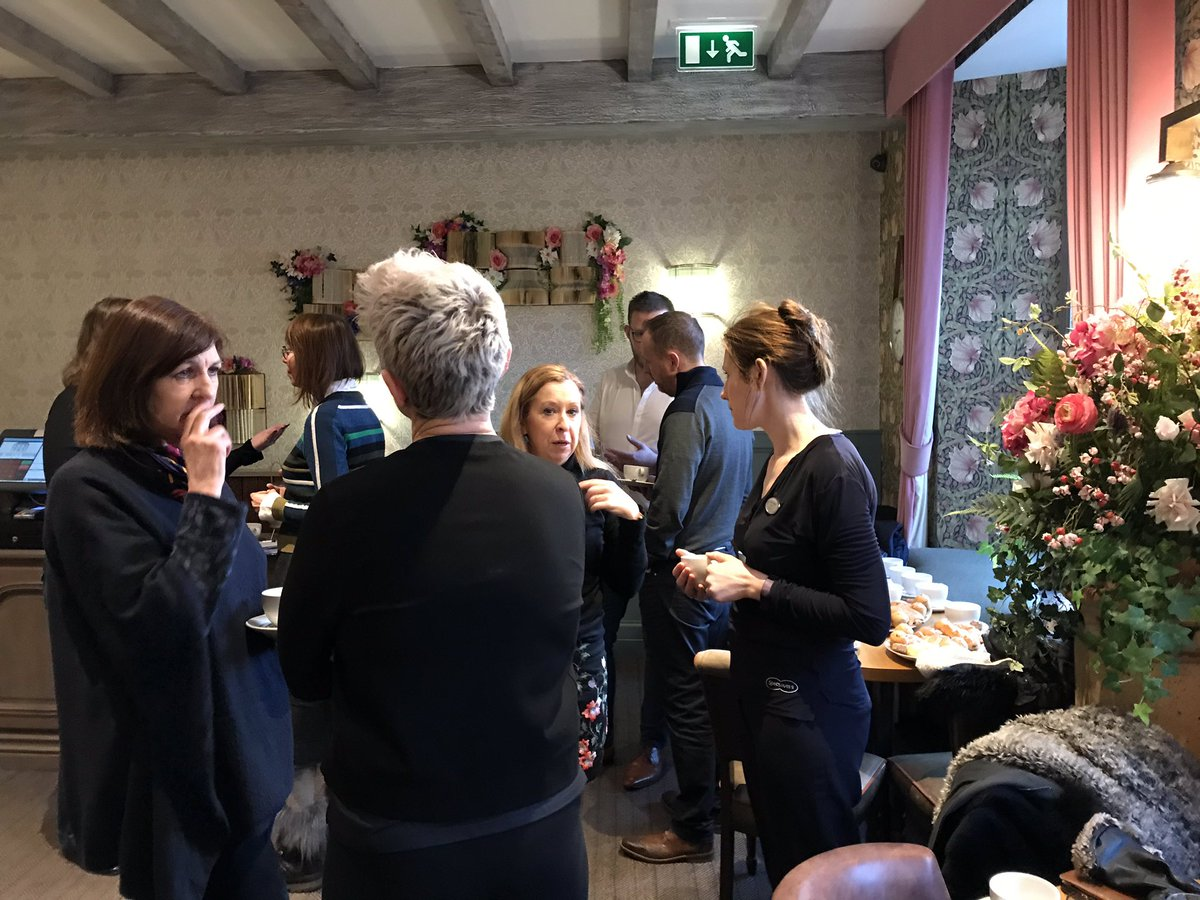 Great business breakfast at the newly refurbished @the_dolls_house  run by @BidStAndrews #localbusiness #wearebid #standrews https://t.co/rVGYknnOVd
