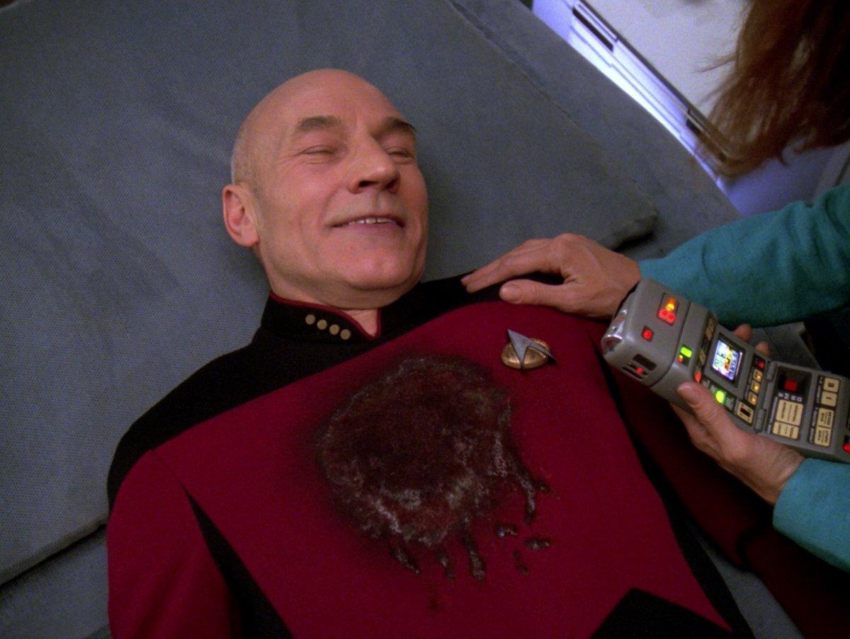 Morgen gehts endlich los! Im letzten Teil meiner Reihe für @SYFYde über Jean-Luc #Picard und seine Facetten geht es heute um seine Vorbildfunktion verbunden mit dem simplen Wunsch für die Serie: Be the man we remember! #bethemanweremember #startrekpicard