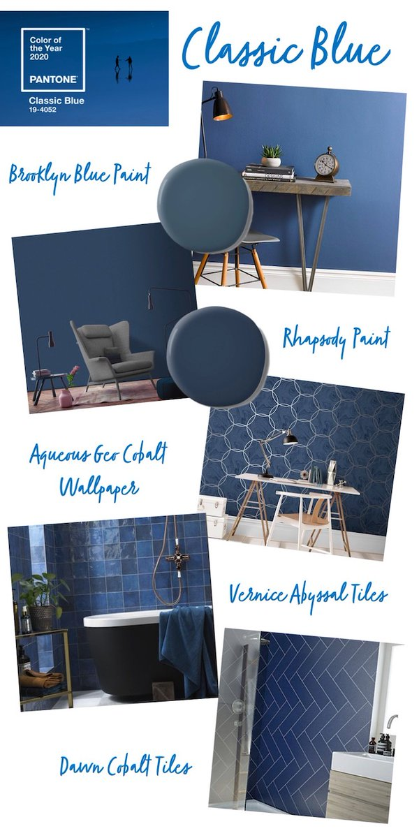 A few ways to bring #classicblue into your home homegirllondon.com/classic-blue-i… #pantone2020 #Pantone #interiortrend Products from affiliate partners