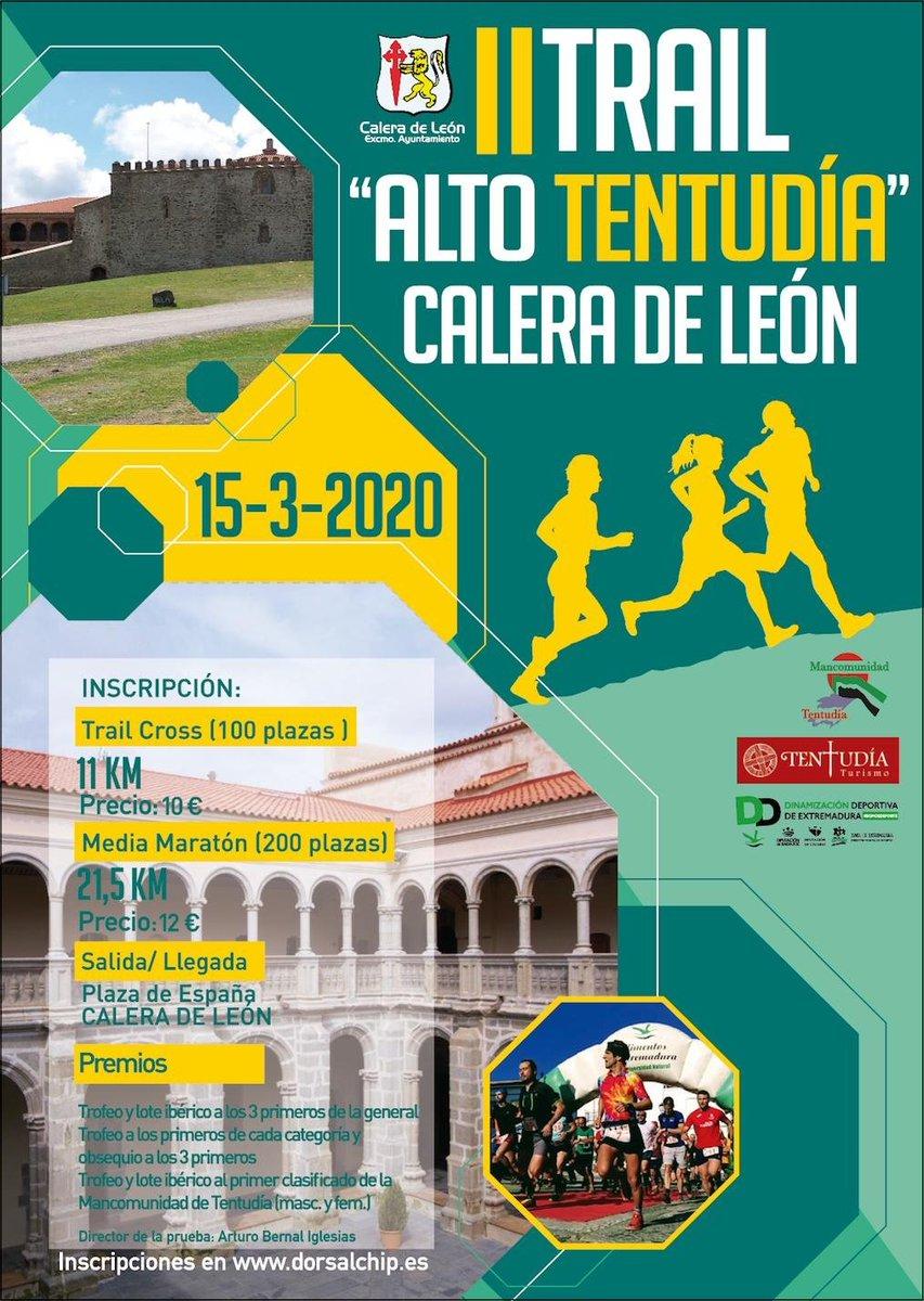II TRAIL ALTO TENTUDIA 2020   . .. #dorsalchipmalaga #dorsalchipsevilla #dorsalchipcádiz #trail #cxm #faa #fam #trailrun #trailrunner #runnersbeermalaga #trailandalucia #lafotodelrunners #badajoz