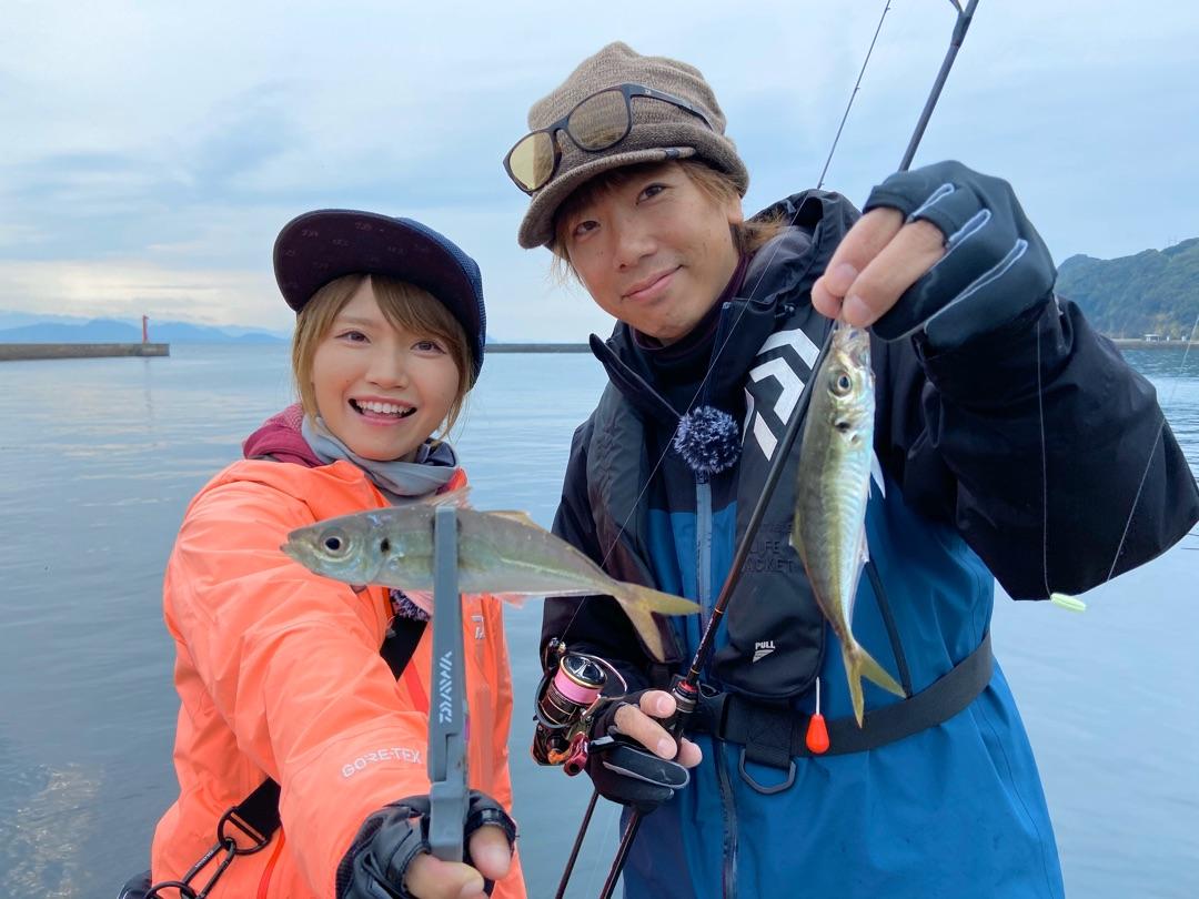 釣り時季★世界遺産の場所でアジング♩ ー アメブロを更新しました