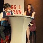 Image for the Tweet beginning: We beginnen met een interview