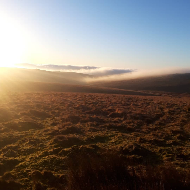 Actually not a bad morning to wake up to! Dartmoor can provide some challenging conditions, but also some of the most stunning views.  #hillwalking #wildcamping #wildcamp #force10tent #sunrise #mist #outdoors #adventure #guidebase