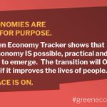 Image for the Tweet beginning: 📢BREAKING📢  Announcing the #GreenEconomyTracker – the