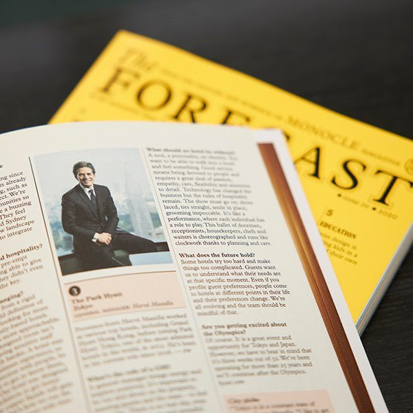 Our General Manager, Hervé Mazella has been featured in #Monocle's 2020 Forecast. He shares his view on what hospitality means to him and his thoughts on the future of the industry. The issue is on sale now!  https:// monocle.com /      http:// bit.ly/2TPB95J      #luxuryispersonal <br>http://pic.twitter.com/Ew0YwPhLpq