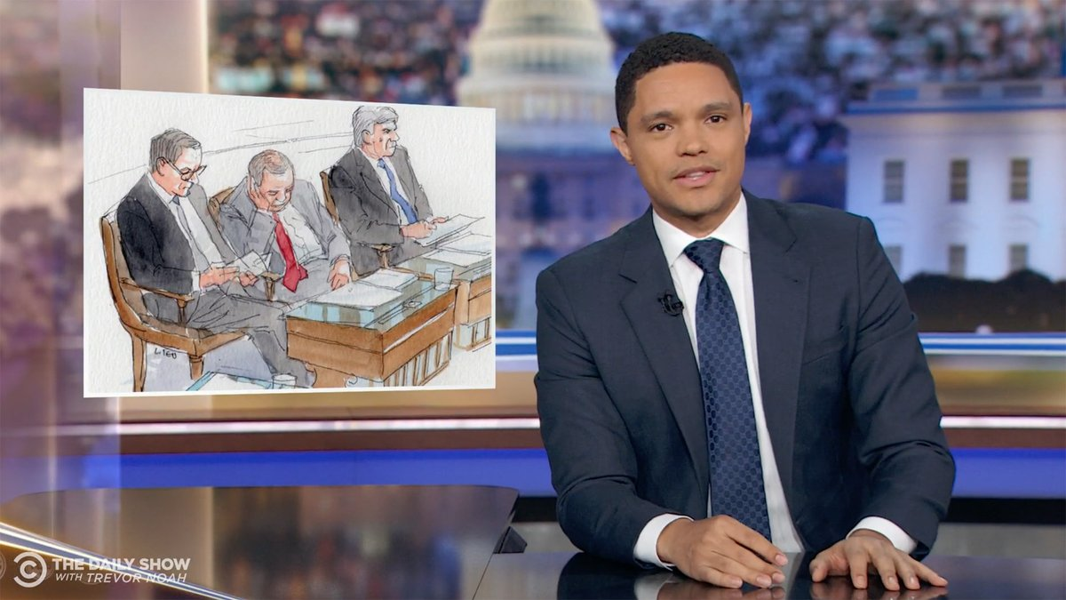 Trevor Noah has a genius method to help senators stay awake during Trump's impeachment trial https://trib.al/LtfhdbL