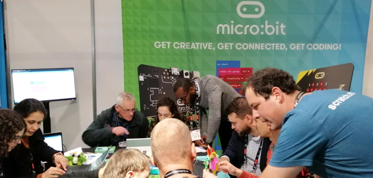 Prepare for giggles and play at the Scratch workshop on Stand SA40 13:30 today! @Bett_show #bett2020 #microbit