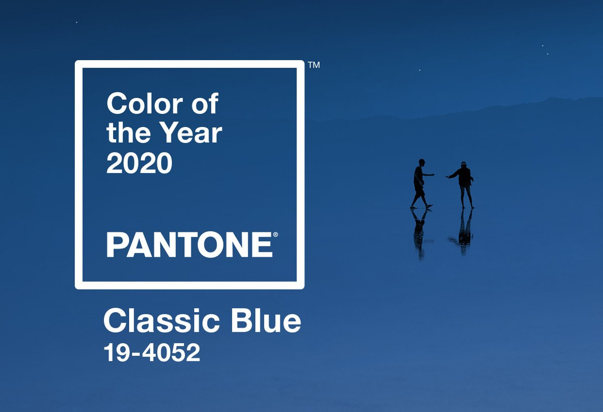 We might be biased, but we love @pantone #coloroftheyear here at Blue Print 😂 #pantone2020 #marketing #classicblue