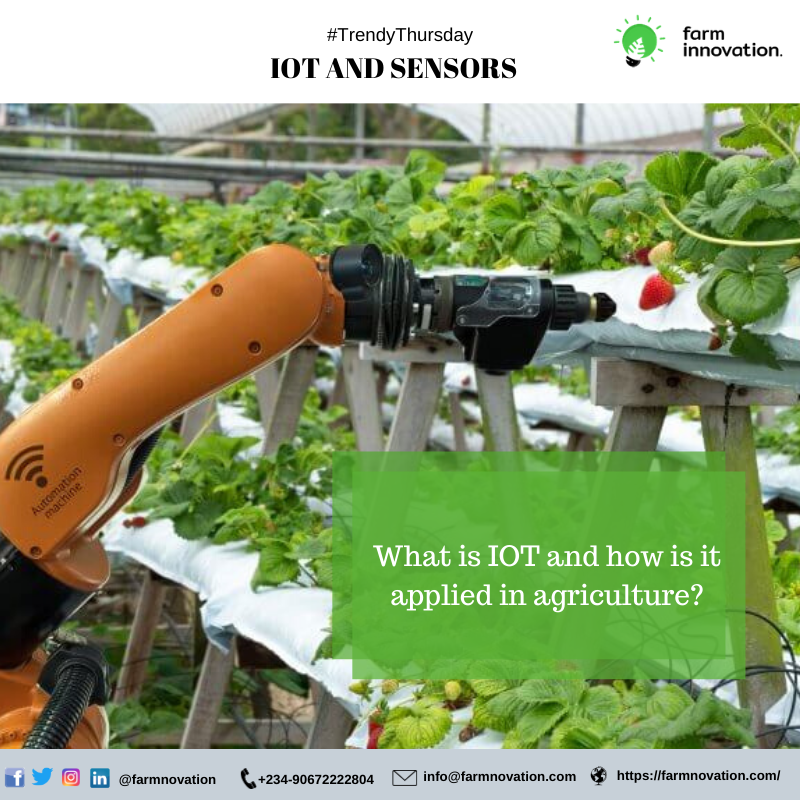IoT devices are 'smart' devices that can transfer data over a network.   The IoT is simplifying and streamlining the collection, inspection and overall distributing of agricultural resources using sensors on equipment and materials.   Have you caught up on this trend yet?<br>http://pic.twitter.com/foHf8TM3oV
