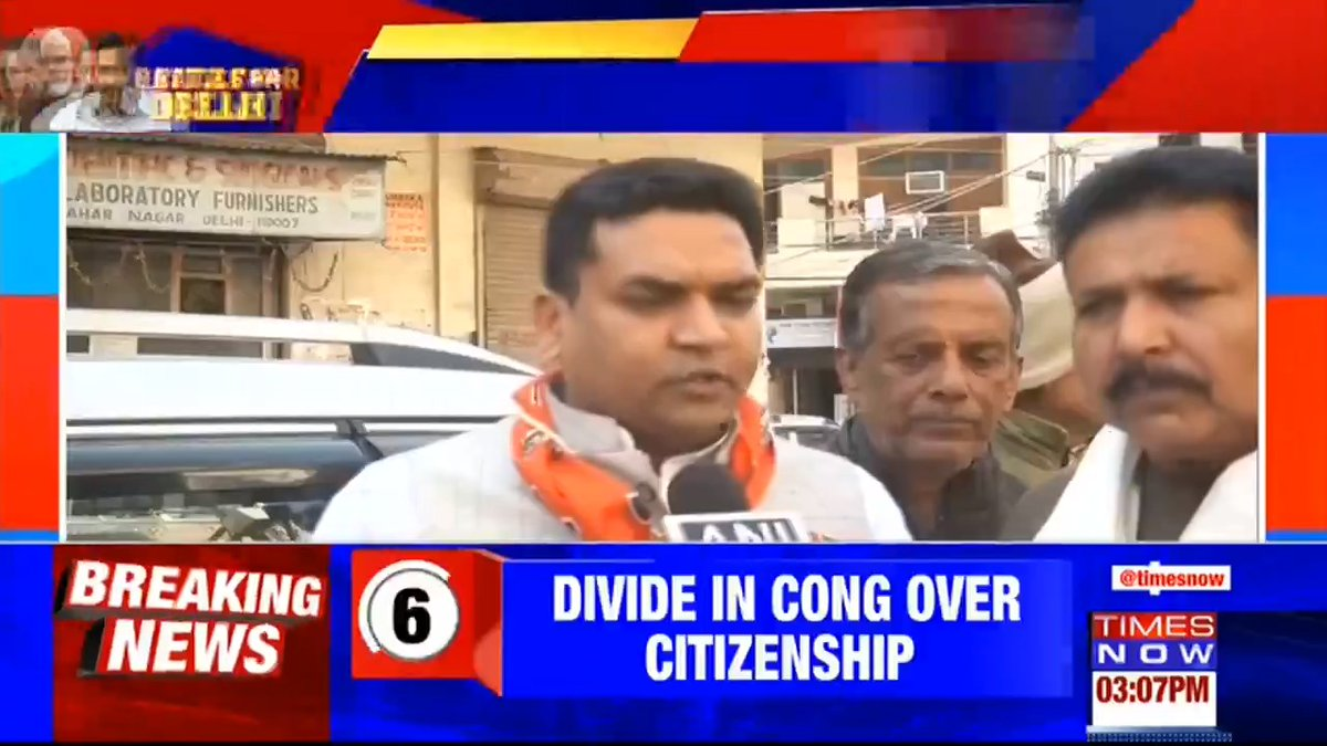 #Breaking | LIVE: @BJP4India leader @KapilMishra_IND clarifies his remark comparing the Delhi Assembly polls to Indo-Pak war. Listen in. | #Feb11WithTimesNow