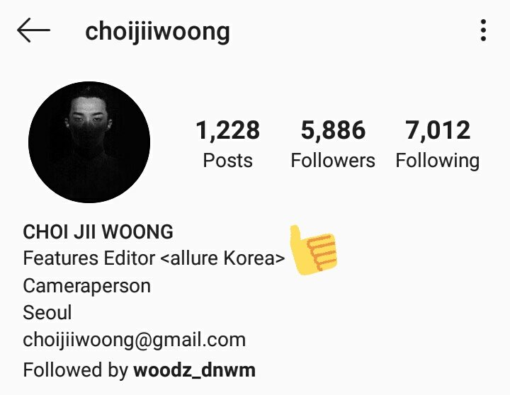 this is Choi Jii Woong who upload seungyoun's DAZED photoshoot, and I just realize that he's from Allure Korea Magazine   I'm thinking about the concept now <br>http://pic.twitter.com/nJkTLOpfaj