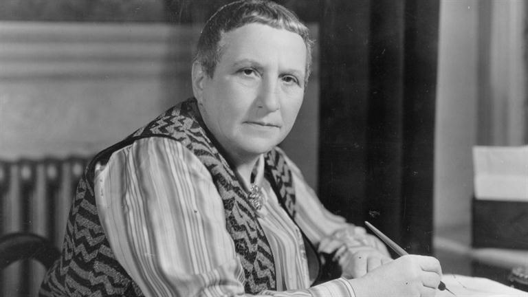 """Everyone relaxed when she had gone; one felt that a natural force had left the room.""  David #Gascoyne recovers from a visit from Gertrude #Stein, 23 January 1939"