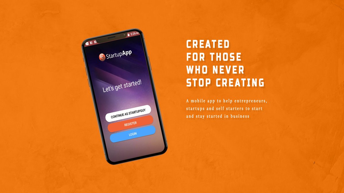 Check out the newly released promo video for @MyStartupApp StartupApp at https://www.youtube.com/watch?v=JGRyRYT_B4M…. Download on Google Play: http://bit.ly/getstartupapp #OneStopShopForStartups #DownloadNow #Entrepreneurs #Africa #Startupspic.twitter.com/OZj3hPHRtd