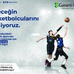 Image for the Tweet beginning: Türkiye Basketbol Federasyonu tarafından Garanti