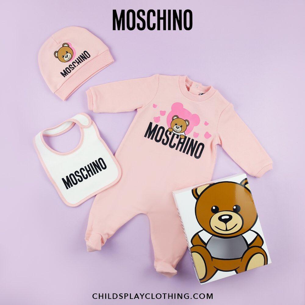 New Season ABSOLUTELY Love This Gift Set #TagAFriend #Moschino #KidsFashion #Designer #Fashion #ChildsplayClothing.<br>http://pic.twitter.com/a3W0rXKSV6