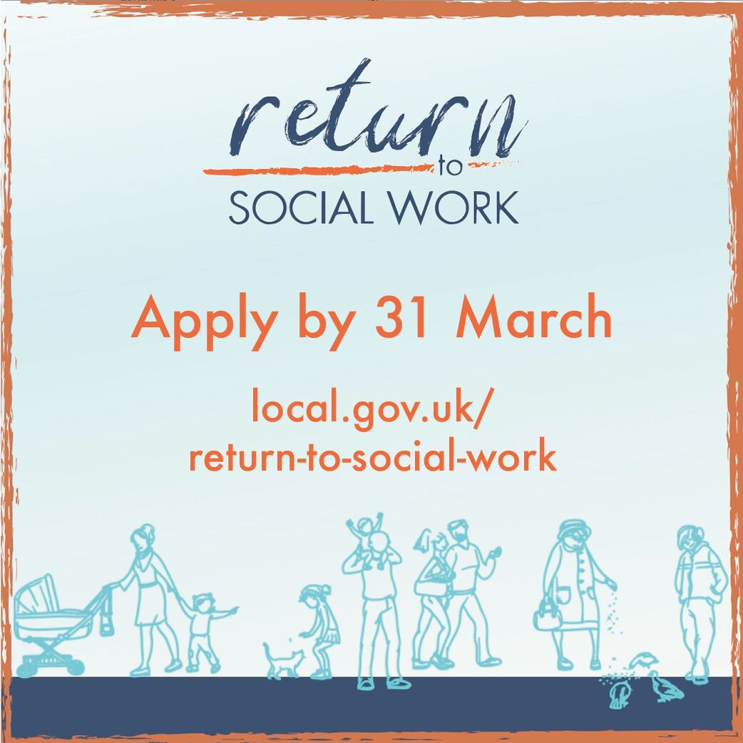 test Twitter Media - We are proud to support  @LGAcomms Return to Social Work programme. It offers 200 former social workers free training so they can #ReturnToSocialWork. Apply before 31 March  https://t.co/QNrBPxBMEg return-to-social-work 👇 https://t.co/hmYjLBBLcj