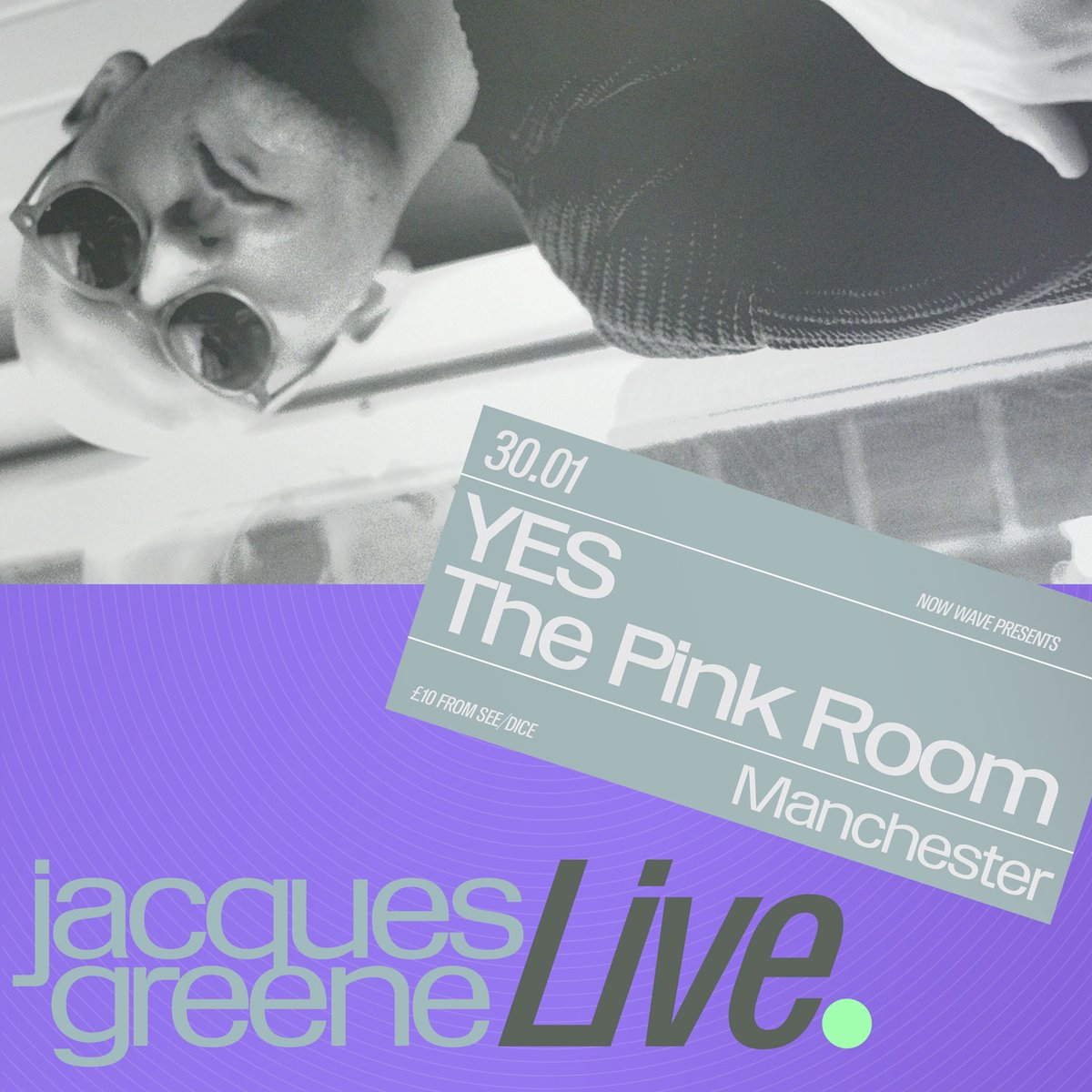 .@jacquesgreene AT @yes_mcr IS ALMOST SOLD OUT. LAST FEW TICKETS HERE: seetickets.com/event/jacques-…