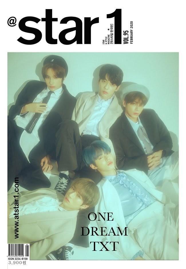 TXT Jadi Cover Majalah Star1 Korea Selatan