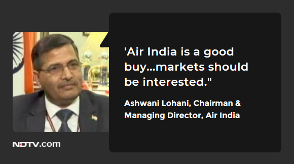 #ExecutiveDecision | Ashwani Lohani, CMD, Air India to NDTV.