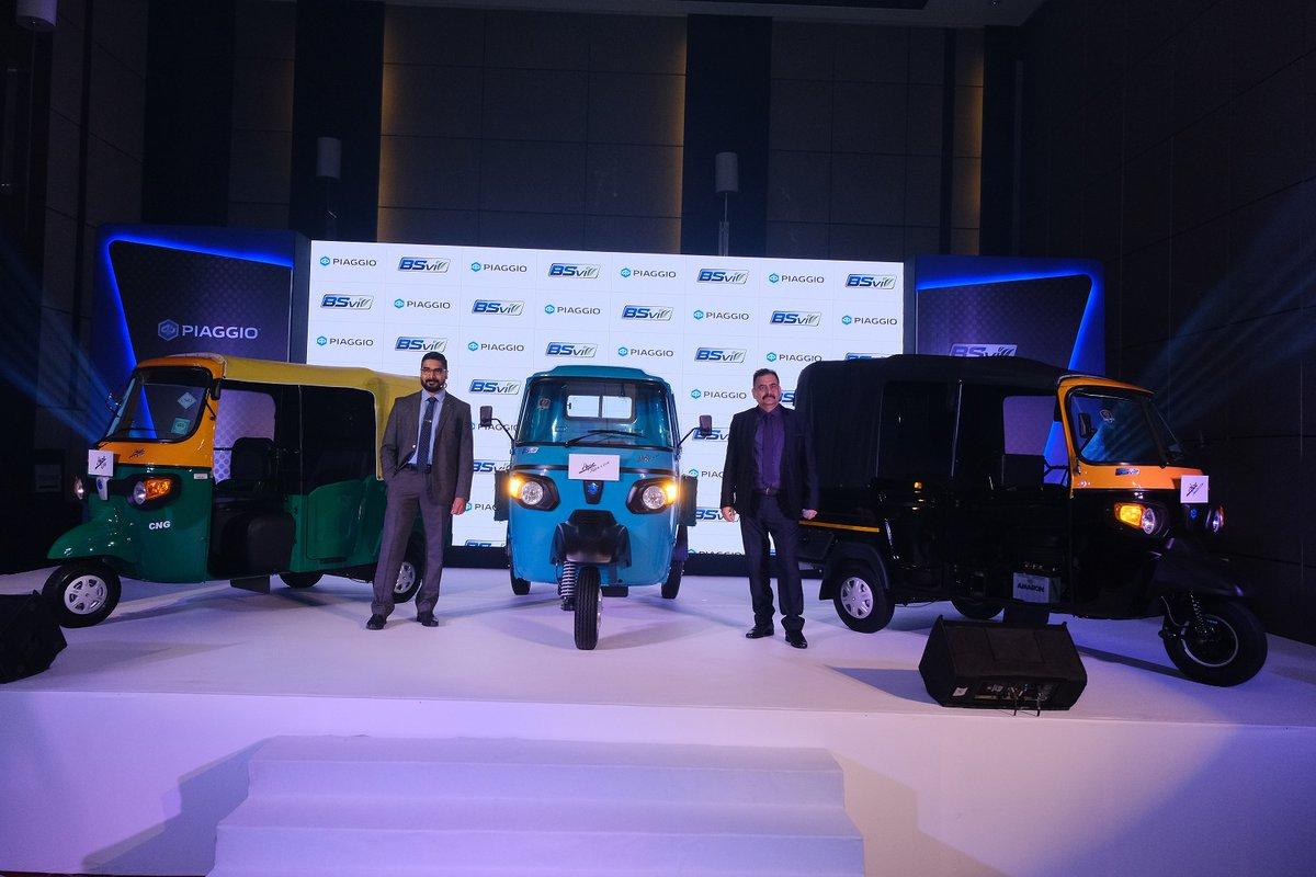Piaggio introduces BSVI range of three-wheelers    More: @PiaggioOfficial   #trucksdekho #commecialvehicles #automobiles #autotech #gaadi #trucks #truckdrivers #usedtrucks #buytrucks #pickup #fleet #transport