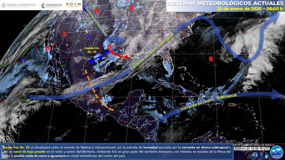 Imagen de Fenómenos #Meteorológicos Significativos de las 06:00 horas en:  https://smn.conagua.gob.mx/es/pronosticos/pronosticossubmenu/imagen-interpretada…