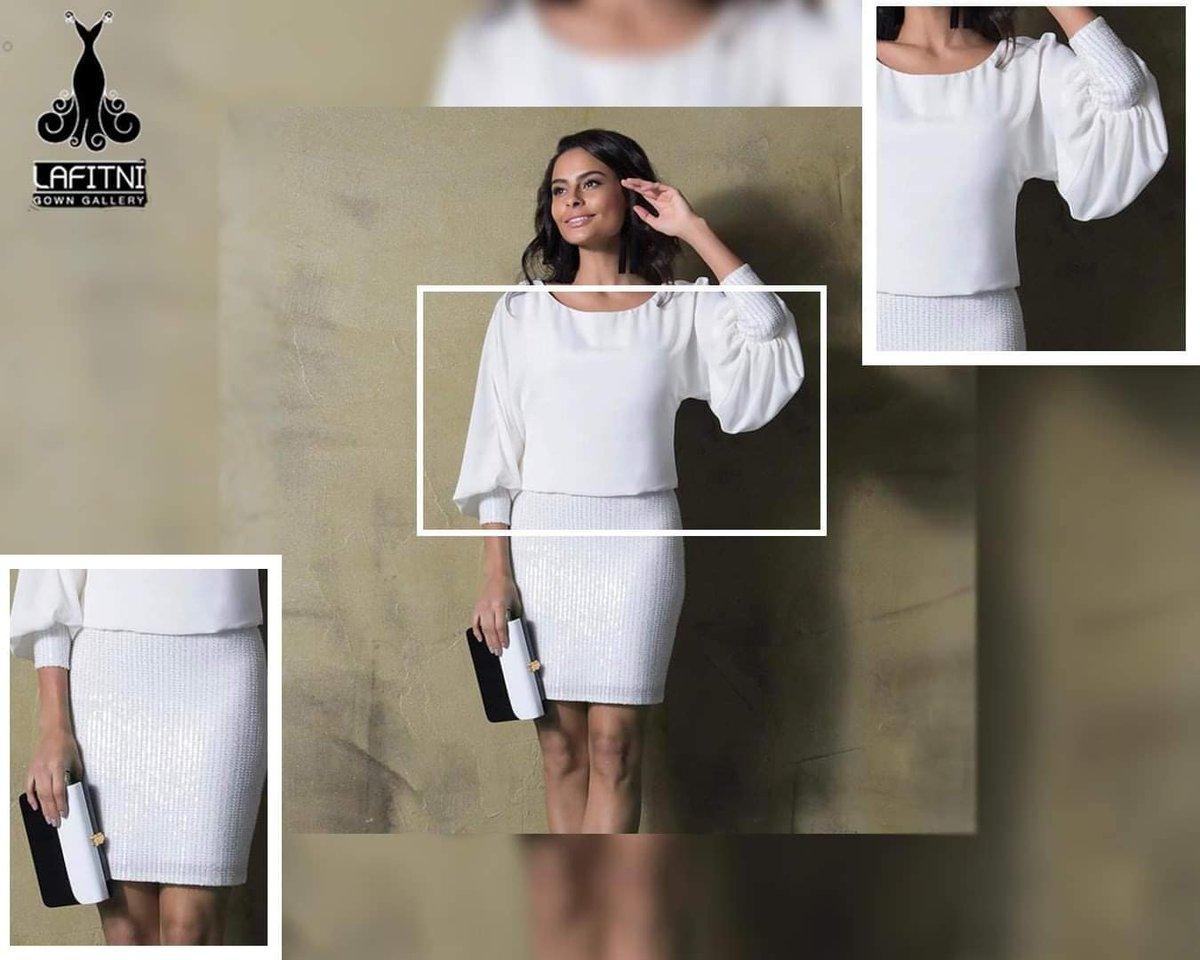 جمال ونعومة التفاصيل #بيوتيك_لافتني🙈👗🌻💫Party dress👗😍💫available in #black and #white  colors🙈🌸💫#size (38-42).http://lafitnistore.com…https://instagram.com/lafitni.gallery/…#fashionshow #fashionist #model #beautifulday   #instagood #modeling #styling #ClassyCreations  #nails