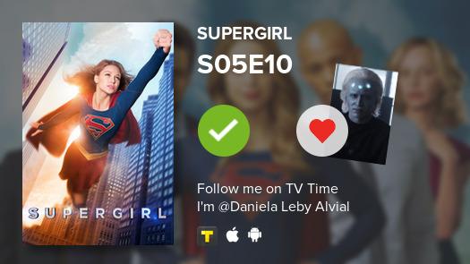 Acabo de ver S05E10 de Supergirl! #supergirl #tvtime tvtime.com/r/1gjyK